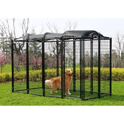 8 Gauge Wire Mesh Confinement Kennel