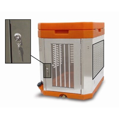 K9 Portable Dog Kennel Color: Brown