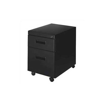 2-Drawer Mobile Pedestal Finish: Black Product Picture 107
