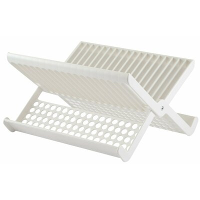 Folding Dish Rack Color: White