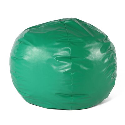 Wacky Sack Bean Bag Chair Upholstery: Green