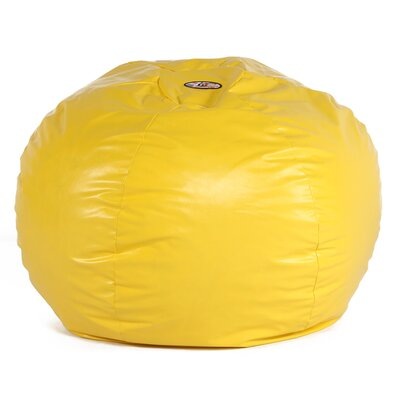 Big Wacky Sack Bean Bag Chair Upholstery: Yellow