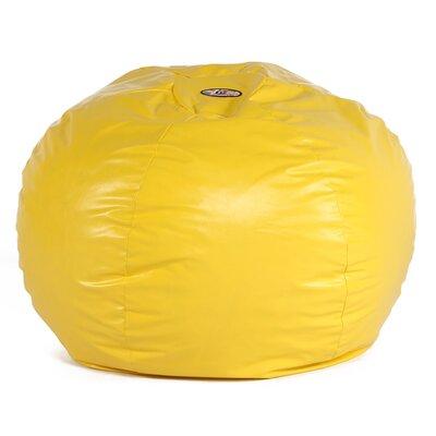 Big Wacky Sack Bean Bag Chair Upholstery: Yellow