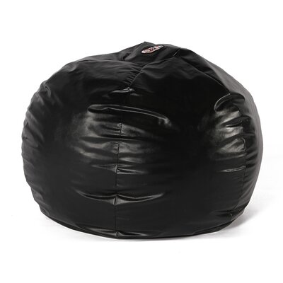 Wacky Sack Bean Bag Chair Upholstery: Black