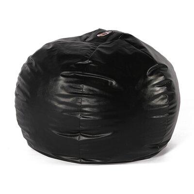 Wacky Sack Bean Bag Chair Upholstery: Black