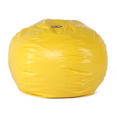 Wacky Sack Bean Bag Chair Upholstery: Yellow