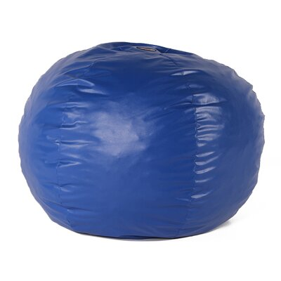 Wacky Sack Bean Bag Chair Upholstery: Blue