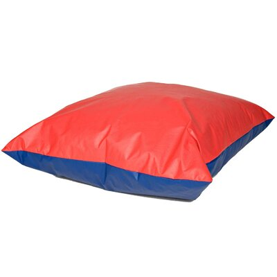 Floor Pillows Sizes : Floor Pillow Size Small Color Red And Blue