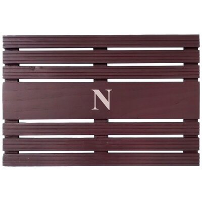 Monogrammed Utility Mats