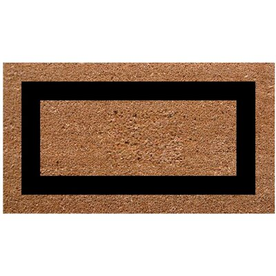SuperScraper Single Picture Frame Doormat