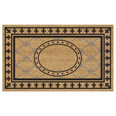 SuperScraper Bungalow Doormat Mat Size: Rectangle 18 x 26