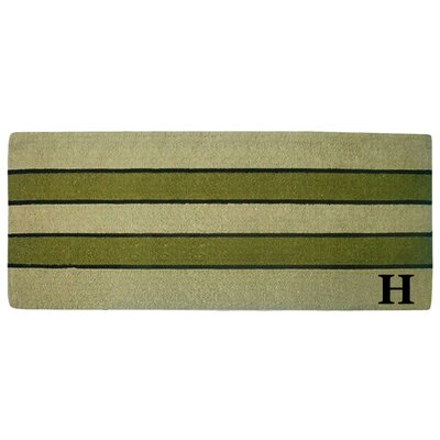 Heavy Duty Door Mat Letter: H