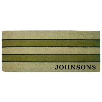 Personalized Heavy Duty Door Mat