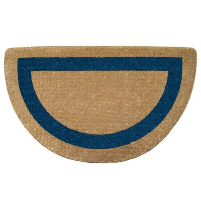 Plain Half Round Heavy Duty Door Mat
