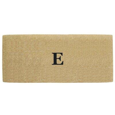 Heavy Duty Door Mat Letter: E