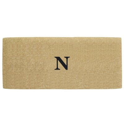 Heavy Duty Door Mat Letter: N