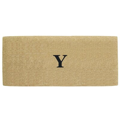Heavy Duty Door Mat Letter: Y