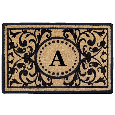 Heritage Heavy Duty Door Mat Letter: A