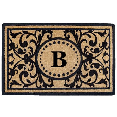 Heritage Heavy Duty Door Mat Letter: B