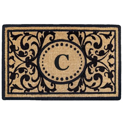 Heritage Heavy Duty Door Mat Letter: C