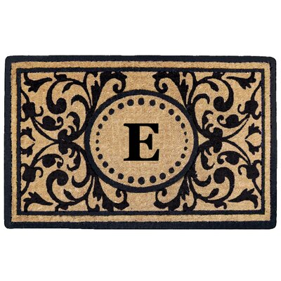 Heritage Heavy Duty Door Mat Letter: E