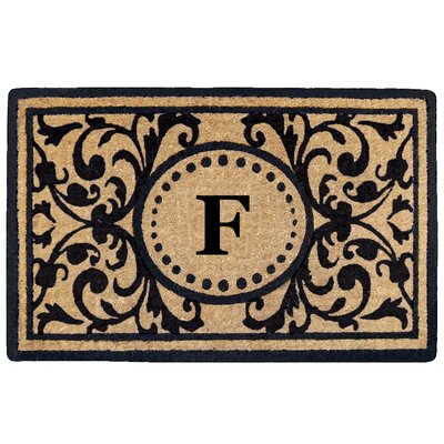 Heritage Heavy Duty Door Mat Letter: F