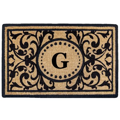 Heritage Heavy Duty Door Mat Letter: G