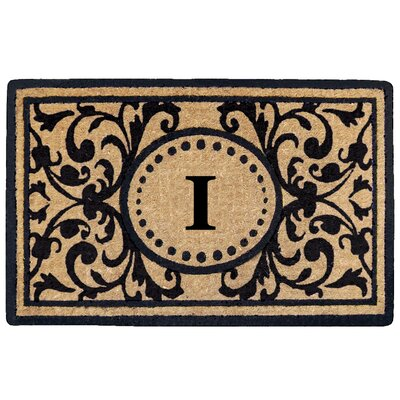 Heritage Heavy Duty Door Mat Letter: I
