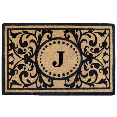 Heritage Heavy Duty Door Mat Letter: J