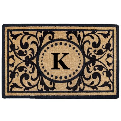 Heritage Heavy Duty Door Mat Letter: K