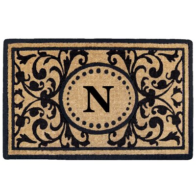 Heritage Heavy Duty Door Mat Letter: N