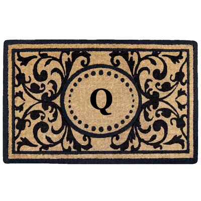 Heritage Heavy Duty Door Mat Letter: Q