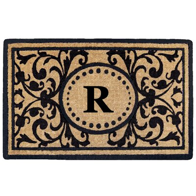 Heritage Heavy Duty Door Mat Letter: R