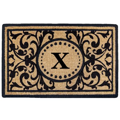 Heritage Heavy Duty Door Mat Letter: X