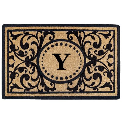 Heritage Heavy Duty Door Mat Letter: Y