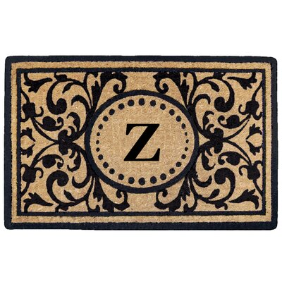 Heritage Heavy Duty Door Mat Letter: Z