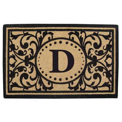Heavy Duty Door Mat Letter: D