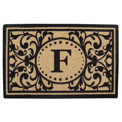 Heavy Duty Door Mat Letter: F