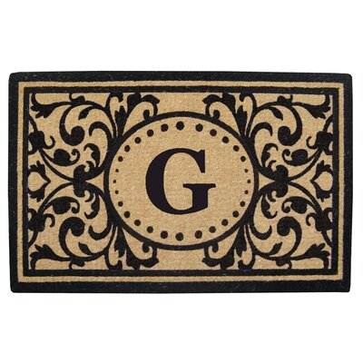 Heavy Duty Door Mat Letter: G
