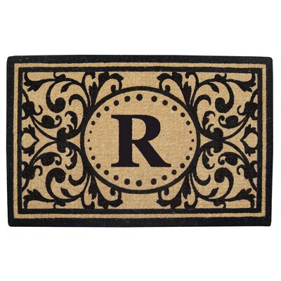Heavy Duty Door Mat Letter: R