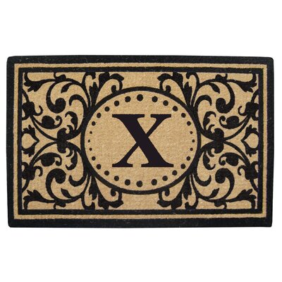Heavy Duty Door Mat Letter: X