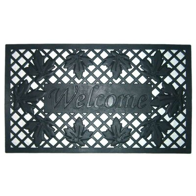 Lattice and Leaves Doormat