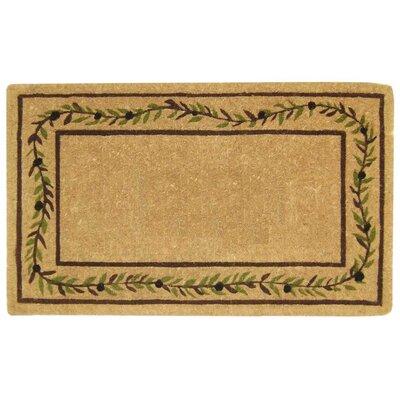 Olive Branch Border Doormat