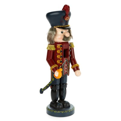 Zim's Heirloom Collectible Nutcracker the Red Prince Figurine -  The Whitehurst Company, LLC, 30009