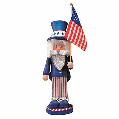 Zim's Heirloom Collectible Nutcracker Uncle Sam -  The Whitehurst Company, LLC, 30021