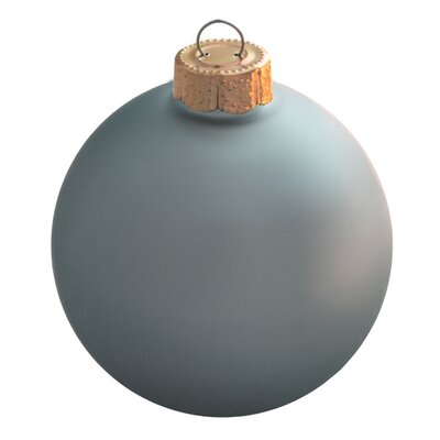 "2"" Christmas Ball Ornament (Set of 2) 27902"