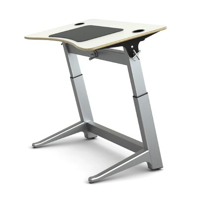 Locus Standing Desk Finish: Glacier White Product Picture 4163