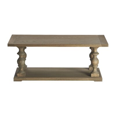 Henryson Pedestal Coffee Table