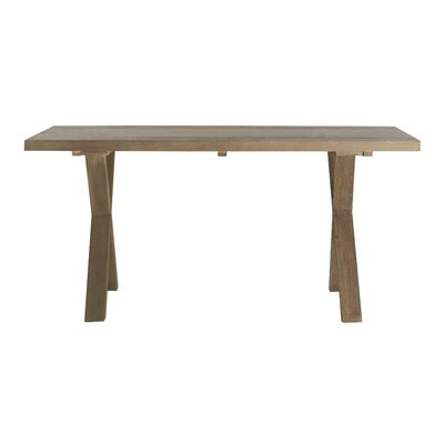 Hetzel Dining Table Table Base Color: Gray