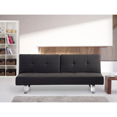 20577 BLNI1132 Beliani Dublin Upholstered Convertible Sofa
